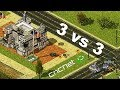 3 vs 3 | Army of the Potomac | Red Alert 2 online multiplayer