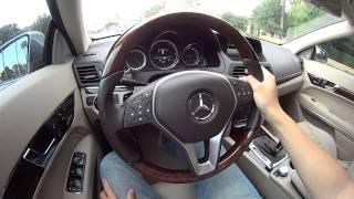 2013 mercedes benz e350 coupe pov test drive