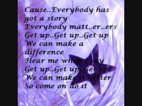 Luke Benward - Get up (Lyrics)