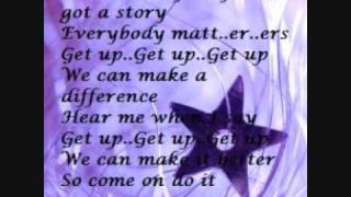 Luke Benward - Get up (Lyrics)