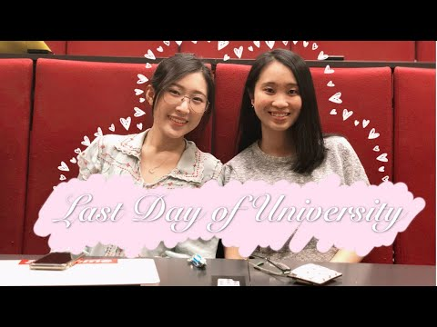 Uni Vlog 6: Last Day Of University | UCL Pharmacy Final Year 大学最后一天
