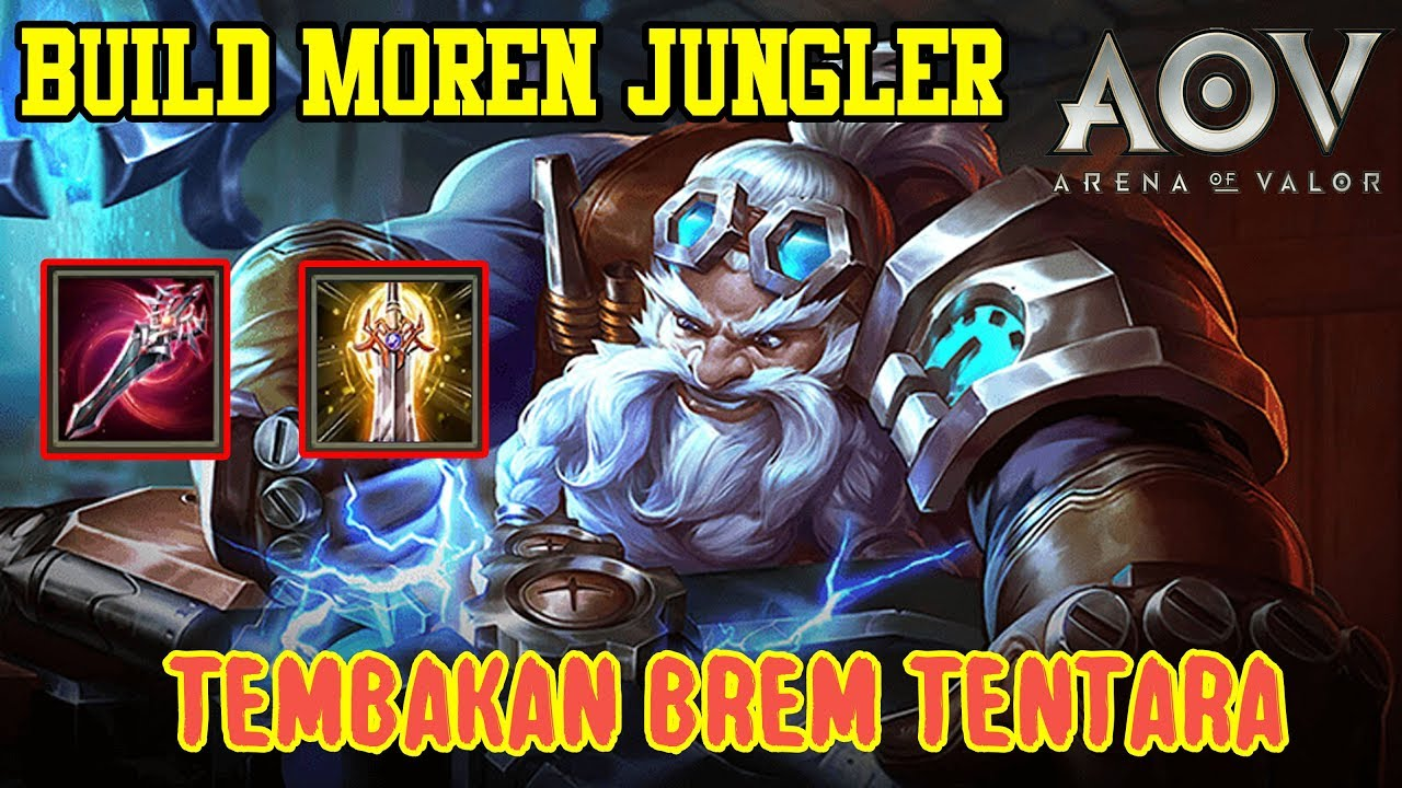 Moren Gameplay Jungler Build Menyakitkan Arena Of Valor Aov Jawa