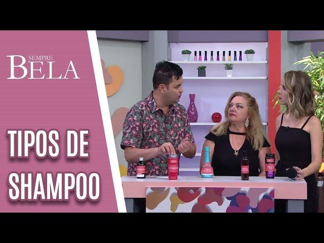 Alô, Sylvio: Qual o Shampoo Ideal Para Cada Tipo de Cabelo? - Sempre Bela (13/01/19)