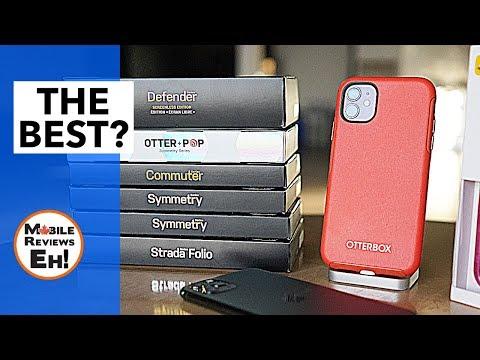Top 3 Otterbox iPhone 11 Cases? - NEW Commuter vs Defender vs Symmetry vs Otter Pop