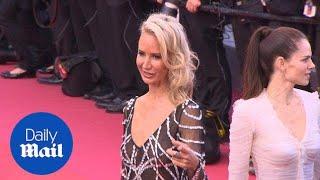 Lady Victoria Hervey arrives at the Blackkklansmann premiere - Daily Mail