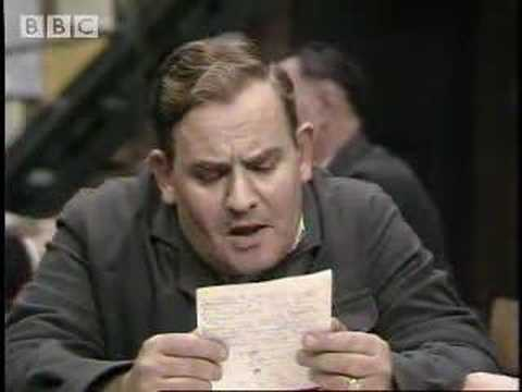 Fletcher knows best – Porridge – BBC classic comedy