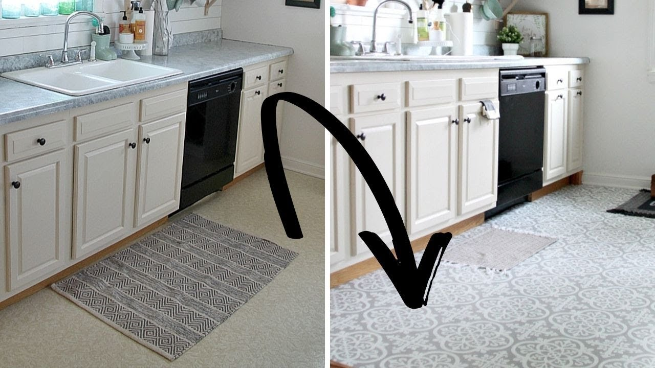 how to use peel and stick vinyl tile to transform your floors