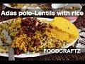 Best Adas polo recipe - (Vegetarian) Lentils with rice   عدس پلو