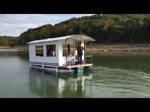 Plastic House Boat -