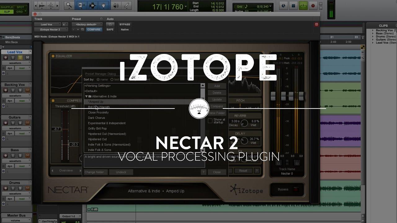 Izotope nectar reverb | iZotope Nectar 3  2019-03-11