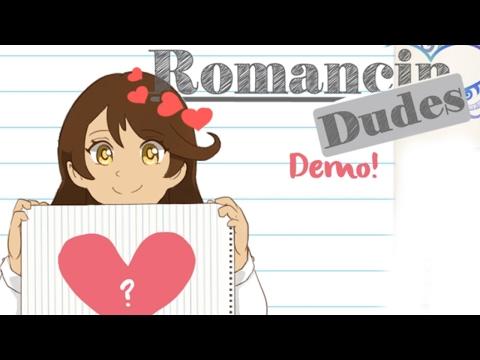 I NEED A DATE! - Let's Play: Romancin' Dudes Visual Novel DEMO