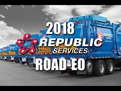 2018 Republic Services Road-eo