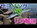 【サヨリ釣り】 茜浜でサヨリング試し釣り&リグの解説
