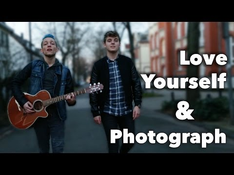 LOVE YOURSELF - PHOTOGRAPH | Justin Bieber - Ed Sheeran Mash Up | Aron David & Rezo