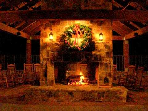 BUMC Cloister Merry Christmas