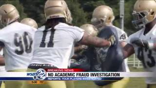 Notre Dame investigating academic fraud