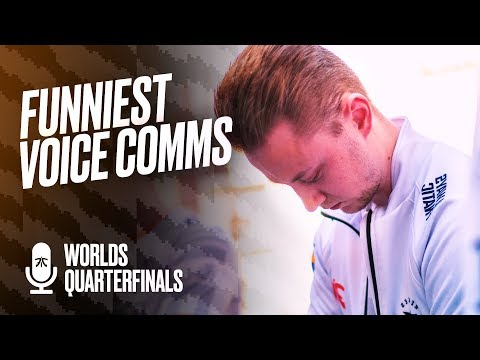 'We played like sh*t!' | Fnatic Voice Comms - Worlds Quarterfinals (FNC vs FPX)
