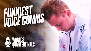 Gambar cover 'We played like sh*t!'   Fnatic Voice Comms - Worlds Quarterfinals (FNC vs FPX)