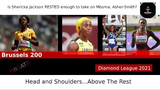 WOW!! Elaine Thompson-Herah OUT of 200, Sha'Carri Richardson IN! Loaded Field in Brussels...