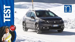 Peugeot 2008 Pure Tech Grip Control | Test sabbia neve