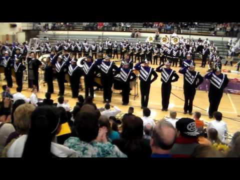 Wyoming Schools Fall Concert - High School Marching Band