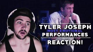 Tyler Joseph | Most Emotional Live Performances | Reaction!