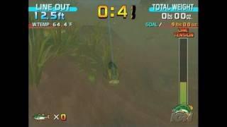 SEGA Bass Fishing Nintendo Wii Gameplay - Reeling One In