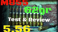 M855 5.56 NATO Green Tip Penetrator Ballistics Gel Test & Review (HD)