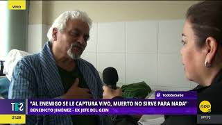 Todo Se Sabe │Entrevista exclusiva a Benedicto Jiménez