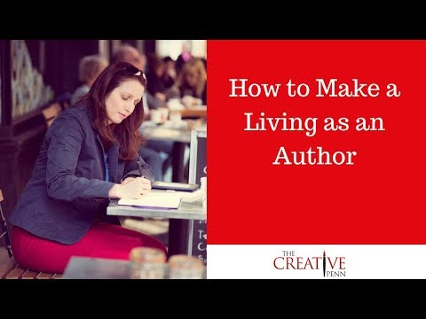 How to make a living as an author. Joanna Penn in conversation with Mark McGuinness