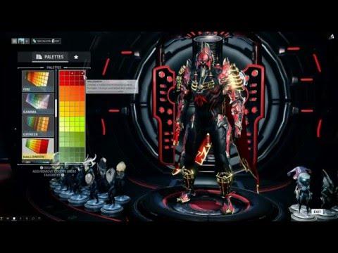 LancelotGray Warframe Color Scheme 3 Remake