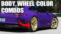 TOP 5 Best BODY to WHEEL COLOR Combinations! Automotive Discussion
