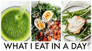 Weekend What I Eat in a Day    Easy & Healthy Meal Ideas