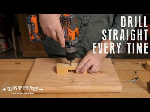 Make a Anywhere Right-Angle Drill Guide | Tricks of the Trade