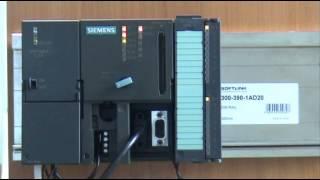 ПЛК Simatic S7-300 + Модуль Softlink SM322