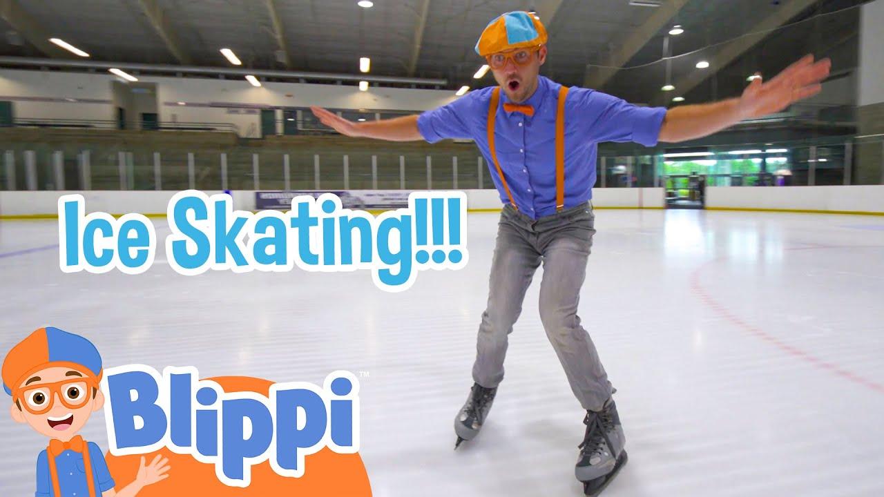 Blippi Visits The Ice Rink + More Blippi Videos For Toddlers | Educational Videos For Kids