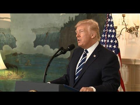 Raw Video: President Trump Statement On Las Vegas Attack