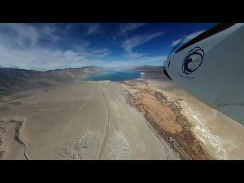 DRI Unmanned cloud-seeding aircraft - Beyond visual line of sight flight