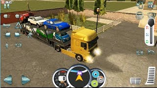 Euro Truck Driver 2018 - Cargo CAR London - ETS Truck Simulator Android Gameplay #3