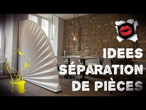 id es de s paration de pi ces pour optimiser l 39 espace youtube. Black Bedroom Furniture Sets. Home Design Ideas