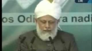 Проповедь Хазрата Мирзы Масрура Ахмада, (02-04-10) часть 5