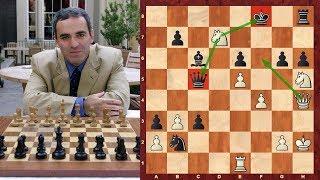 Шахматы. Гарри Каспаров УНИЧТОЖИЛ Евгения Бареева во французской защите!