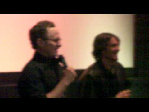 The Wizard...Todd Holland & Luke Edwards were greeted by enthusiastic  @ New Beverly Cinema!