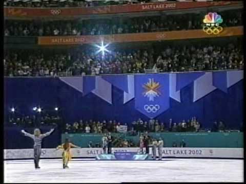 Medal Award Ceremony - 2002 Salt Lake City, Ice Dancing, Free Dance