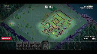CLASH OF CLANS - Witches being the Bitches - One of the most used BH attack