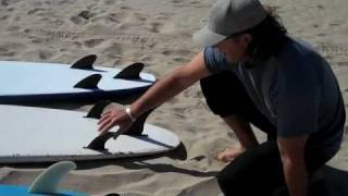 Alain Bourgault's Surf Tips 3: Types of Surfboards