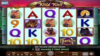 Free Wild Wolf slot machine by IGT gameplay ★ SlotsUp