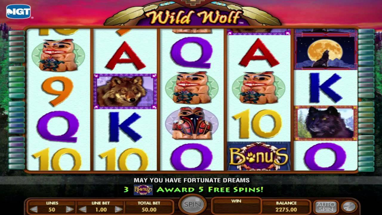 Wild Wolf Slot Machine Free
