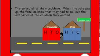 place value street story