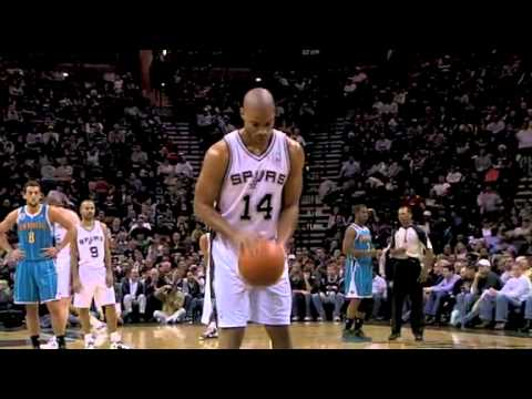 Score free throw celebration FAIL by Gary Neal New Orleans Hornets vs San Antonio Spurs